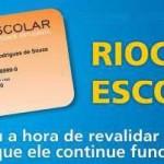 Rio Card Escolar: Revalidação dos Cartões
