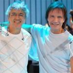 Roberto Carlos e Caetano fazem hoje apresentação única no Rio
