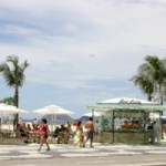 Novos quiosques da orla Copacabana