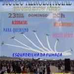 Show aéreo do Museu Aeroespacial nesse Domingo