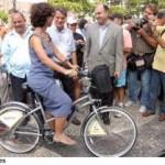 Prefeitura inaugura estação de bicicleta de aluguel em Copacabana