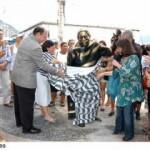 Colônia dos Pescadores e estátua de Dorival Caymmi são inauguradas no Posto 6