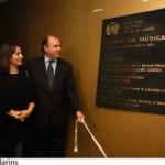 Prefeito Cesar Maia descerra placa comemorativa da Cidade da Música
