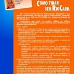 RioCard Escolar: Atenção alunos da Rede Pública de Ensino das Escolas da Cidade do Rio de Janeiro