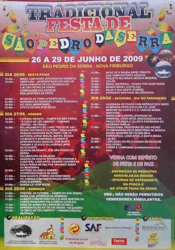 Festa de São Pedro-2009