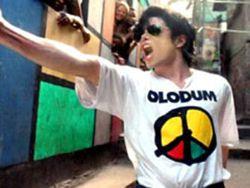 Michael Jackson no Dona Marta