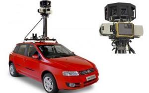 Modelo Fiat Stilo foi adaptado para receber o kit de captura de imagens do Google Street View. (Foto: Divulgação)