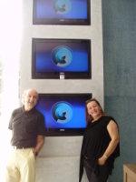 Hans Donner e Rachel Marques