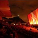 Vale Open Air: música e cinema ao ar livre na maior tela do mundo