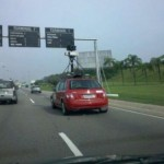 Flagra: carro do Google Street View no Rio