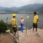 Atividades radicais no Parque da Catacumba atraem turistas