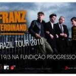 Franz Ferdinand na Fundição Progresso
