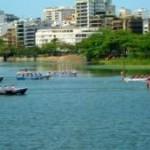 34ª Regata a Remo da Escola Naval reúne atletas de cinco países na Lagoa Rodrigo de Freitas