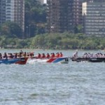 XXXIV Regata a Remo da Escola Naval na Lagoa Rodrigo de Freitas