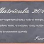 Matrículas 2011 nas Redes Municipal e Estadual de Ensino