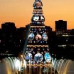 A maior Árvore de Natal flutuante do mundo é carioca