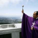 Turistas se unem em oração pelo Rio de Janeiro
