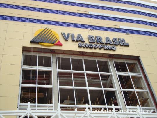 14eed6e7c63 Shopping Via Brasil em Irajá está quase pronto