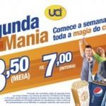 'Segunda Mania' baixa preços de ingressos na UCI