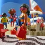 """Exposição """"Playmobil – O Rio no Verão é Forte"""" ficará aberta no Carnaval"""