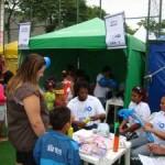 Ação Global 2011 na Mangueira