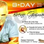 """Breno Guimarães comemora aniversário no espaço Improviso, com o espetáculo """"B-Day"""""""