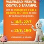 Vacinação Contra o Sarampo prorrogada no Rio de Janeiro