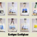 Ecobags e Camisetas Ecológicas com fotos dos pontos turísticos do Rio