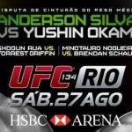 UFC RIO terá transmissão Ao Vivo em Cinemas UCI