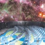Planetário inaugura Sistema de Imersão na Cúpula Galileu Galilei