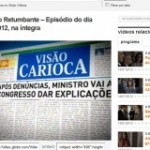 """Visão Carioca no """"O Brado Retumbante"""" da Globo"""