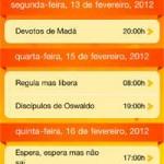 Aplicativo para iPhone dos Blocos de Rua do Rio 2012