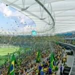 Imagens de como vai ficar o Maracanã