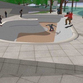 Skate Plaza: MegaEspaço para Street Skate - Praça da Bandeira