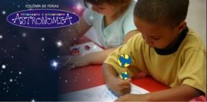 """Colônias de Férias """"Brincando e Aprendendo Astronomia"""" do   Planetário do Rio"""
