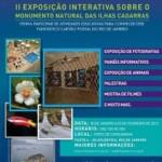 Exposição sobre o Monumento Natural das Ilhas Cagarras