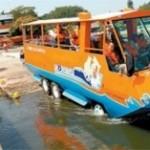 Rio de Janeiro vai ter Veículo Anfíbio para Turistas