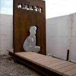 Banco Panorâmico em homenagem a Millôr Fernandes no Arpoador