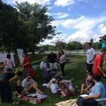 Atelier Livre no Aterro do Flamengo
