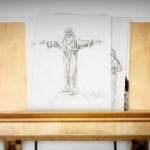 Exposição Cristo Redentor de braços abertos no Forte de Copacabana