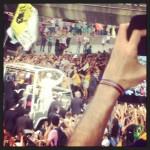 Missa de Abertura da JMJ Rio 2013 na Praia de Copacabana