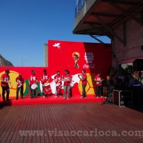 Lançamento do Tour da Taça da Copa do Mundo