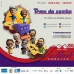 Trem do Samba 2013 para comemorar o Dia Nacional do Samba