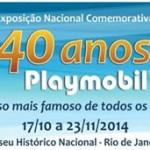 Playmobil completa 40 anos e ganha exposição no Rio